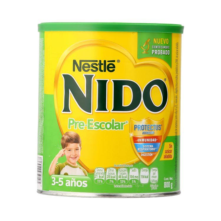 Nido Prebio 3Y 1 Lata Polvo 800 Gr