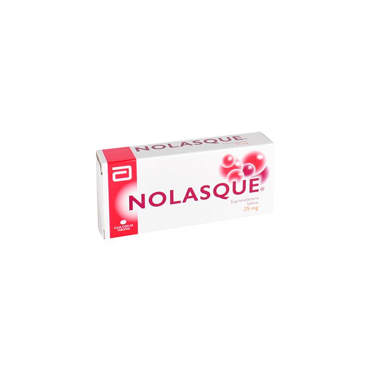 NOLASQUE 25MG TAB C20
