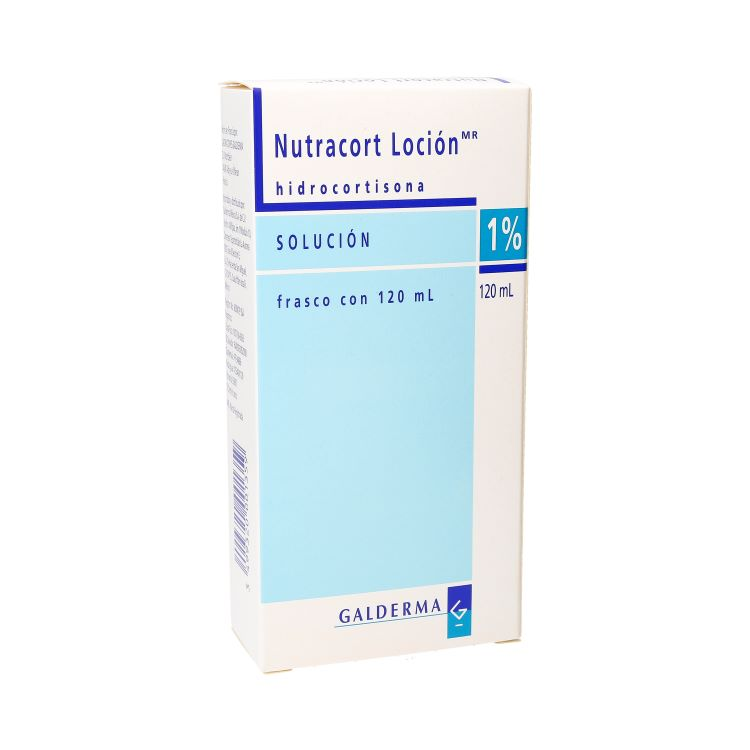 NUTRACORT 1% LOC 120ML