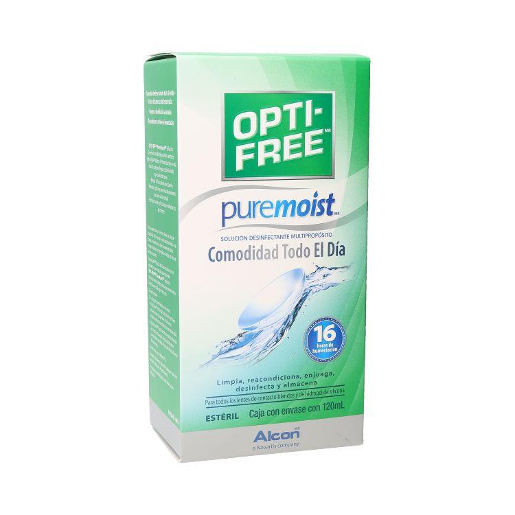 OPTI FREE PURE MOIST 120 ML