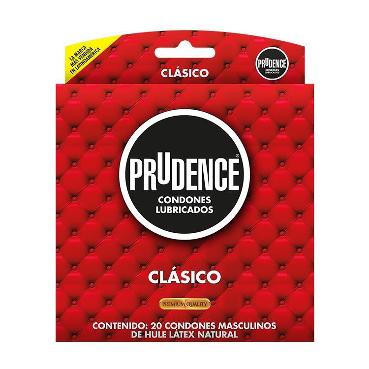 PRESERVATIVO PRUDENCE CLASICO CON 20 CONDONES