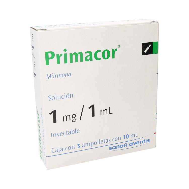 Primacor 1mg/1ml 10ml Amp C3