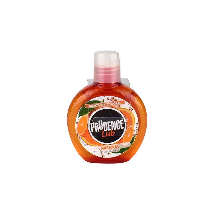 PRUDENCE GEL LUBRICANTE NARANJA 75ML