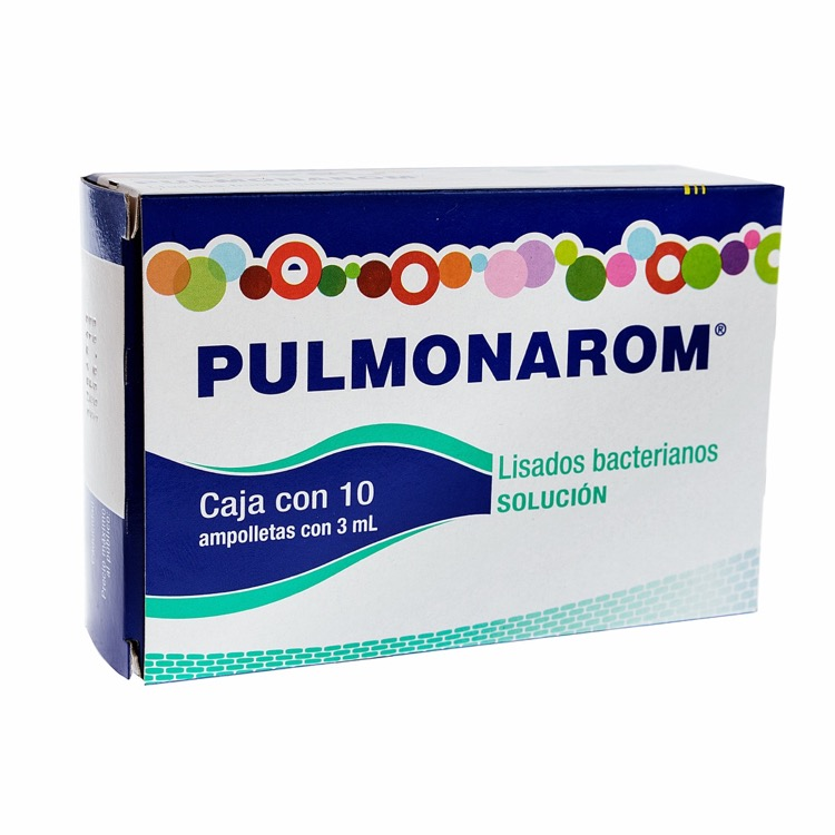 Pulmonarom Solución 10 Piezas Ampolletas