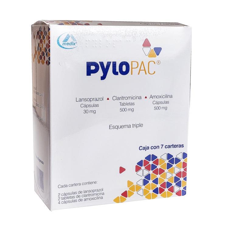 Pylopac Cartera A 30 Mg Caja 7 Capsulas Farmacia Prixz