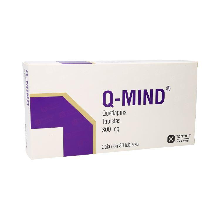 Q-Mind 300 Mg Caja 30 Tabletas