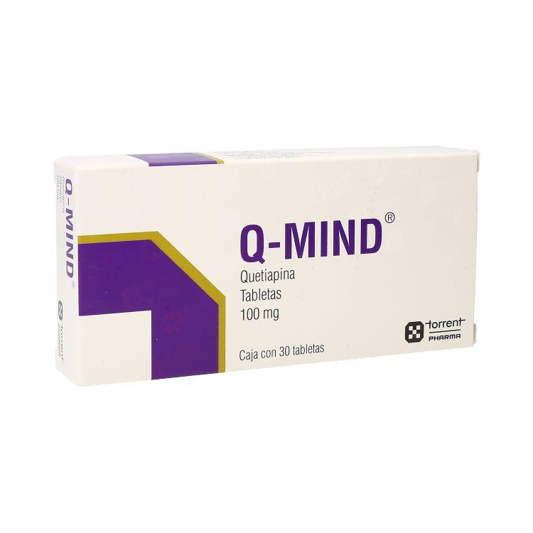 Q-Mind 100 Mg Caja 30 Tabletas