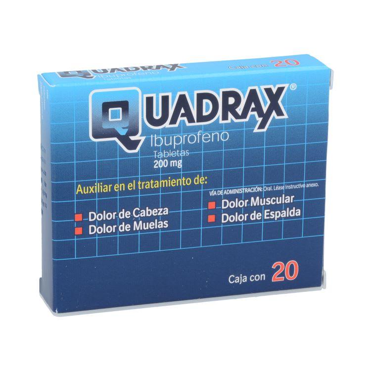 QUADRAX 200MG TAB C20
