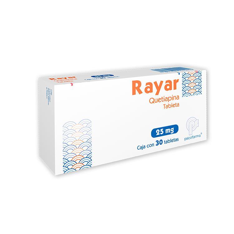 RAYAR 25MG TAB C30