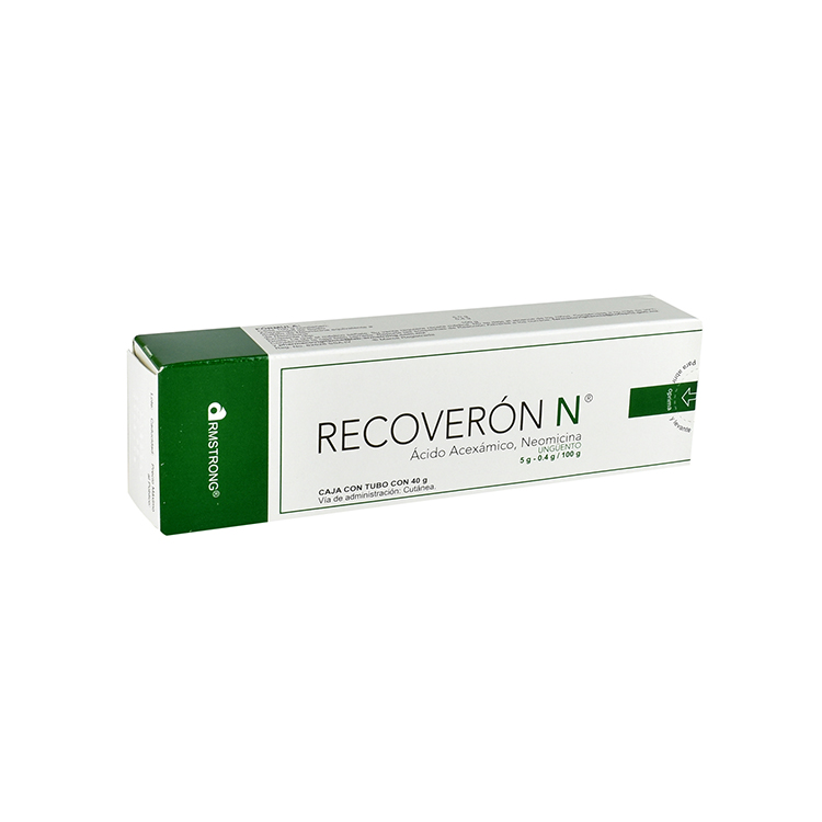 Recoveron Neomicina 40 Gr 1 Tubo Ungüento