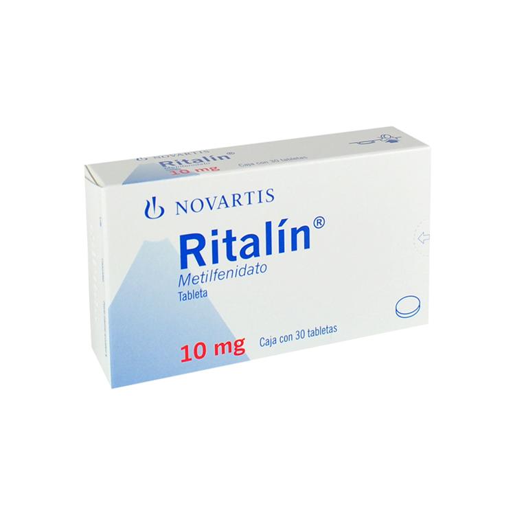 RITALIN 10MG CPR C30