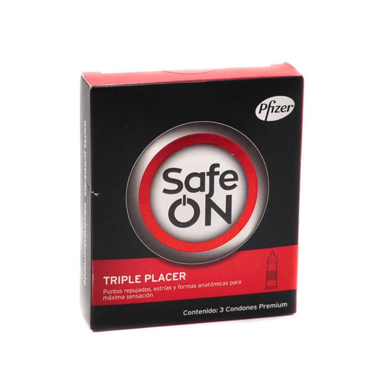 PRESERV SAFE ON TRIPLE PLACER C3