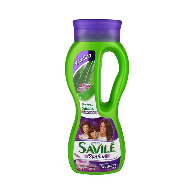 Savile Control Caida Keratina 1 Botella Shampoo 750 Ml