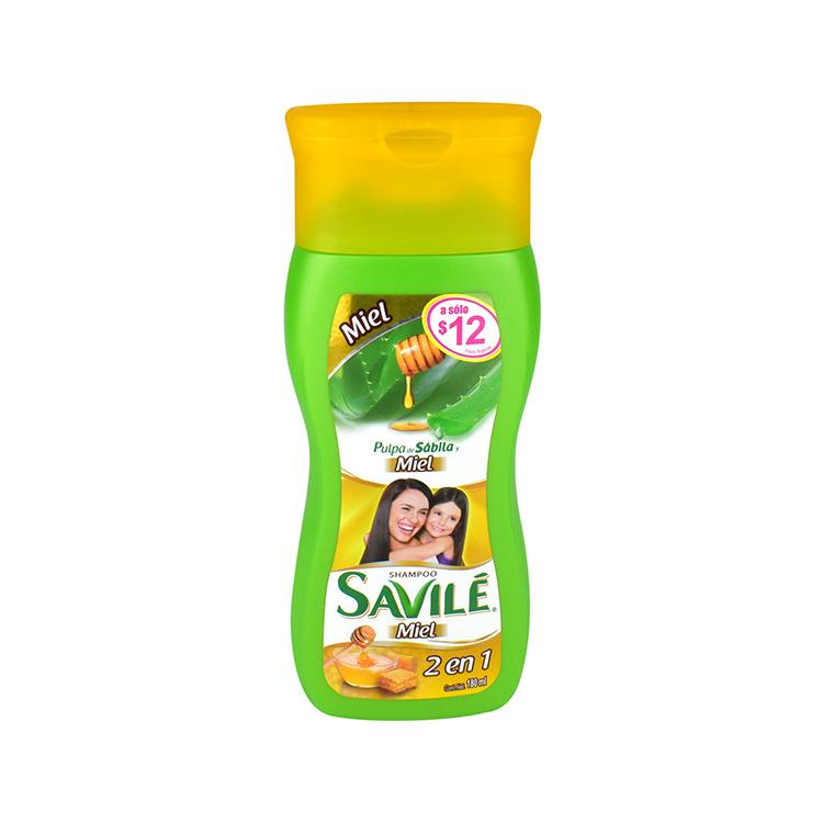 Savile Control Caida 1 Botella Shampoo 180 Ml