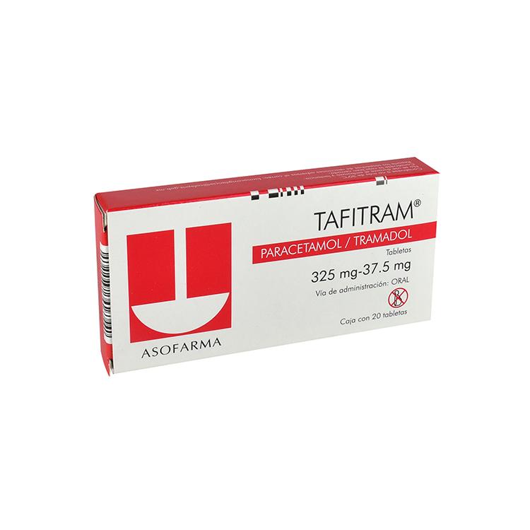 TAFITRAM 325-37 5MG CPR C20