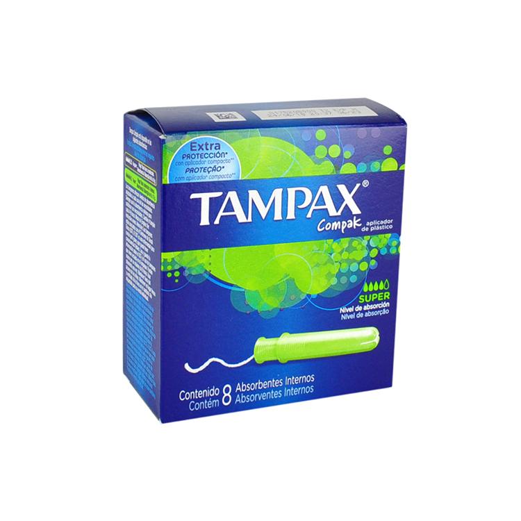 TAMPAX COMPAK SUPER C8