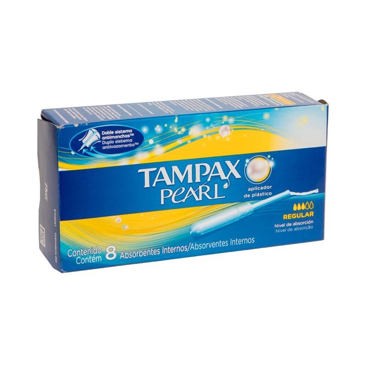 Tampax Pearl Reg Caja 8 Piezas
