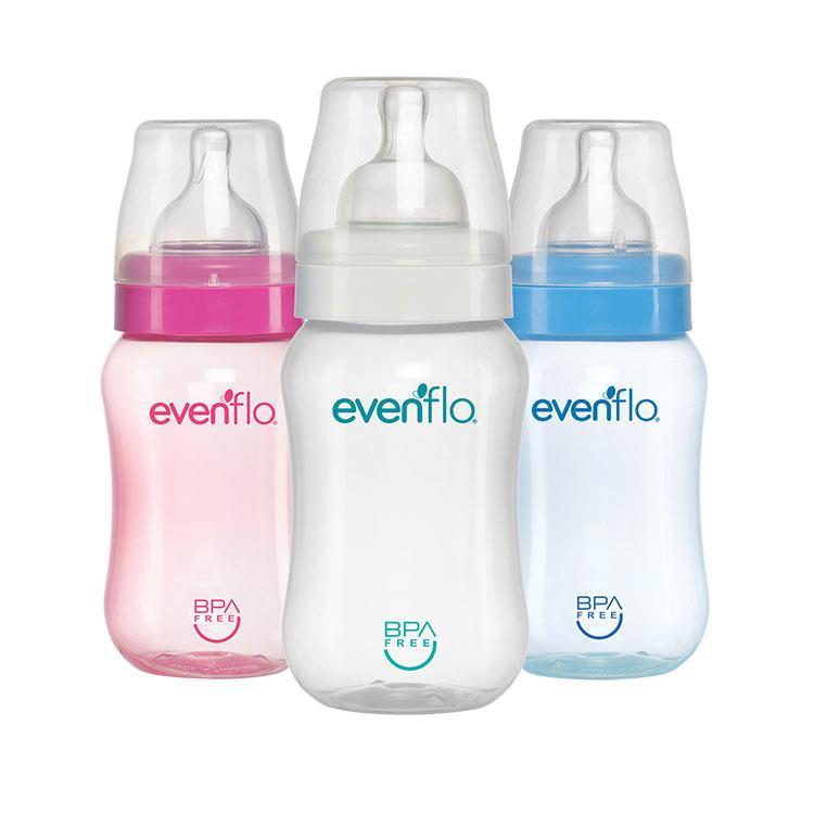 Evenflo Cuello Ancho 9 Onzas 1 Botella 260 Ml