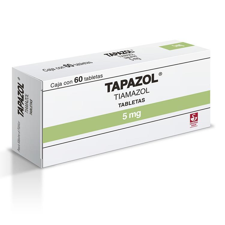 TAPAZOL 5MG TAB C60
