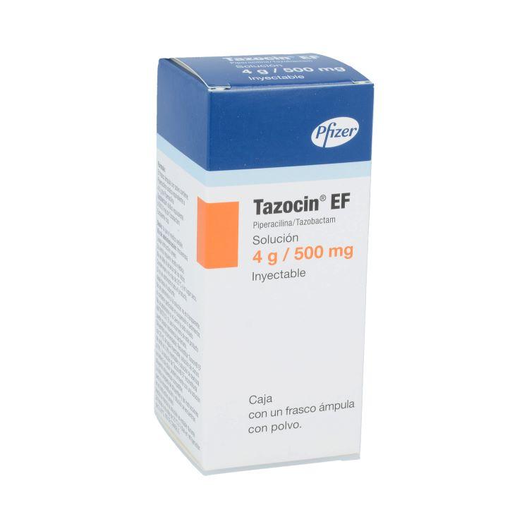 TAZOCIN EF 4G/500MG INY C1
