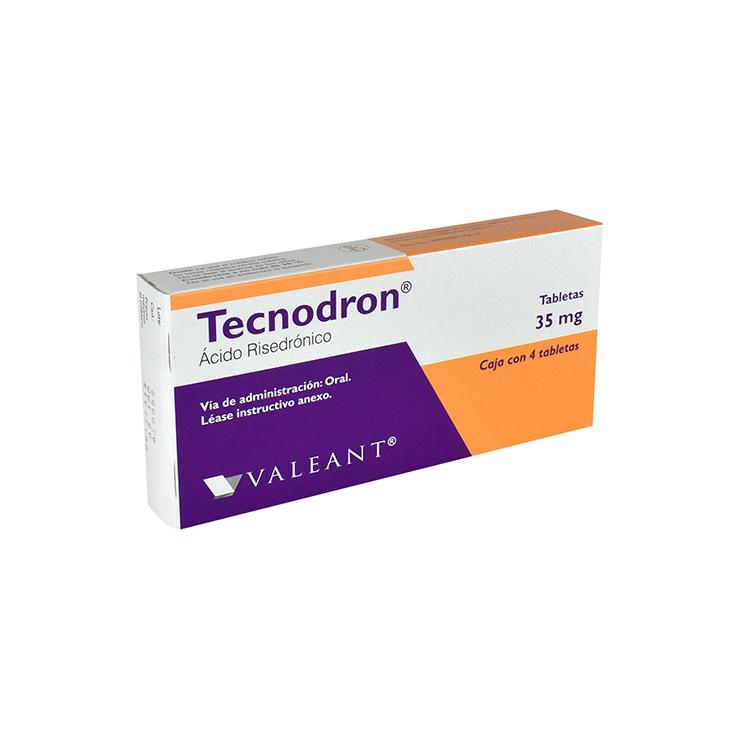 TECNODROM 35MG TAB C4