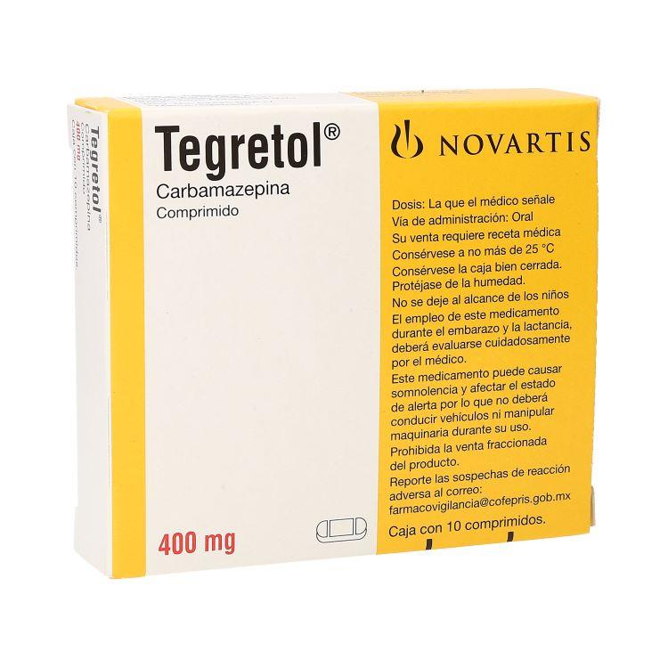 Tegretol cr 200 mg 20 tabletas