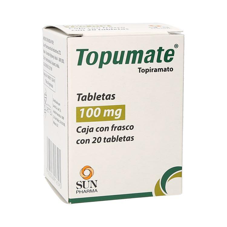 TOPUMATE 100MG TAB C20