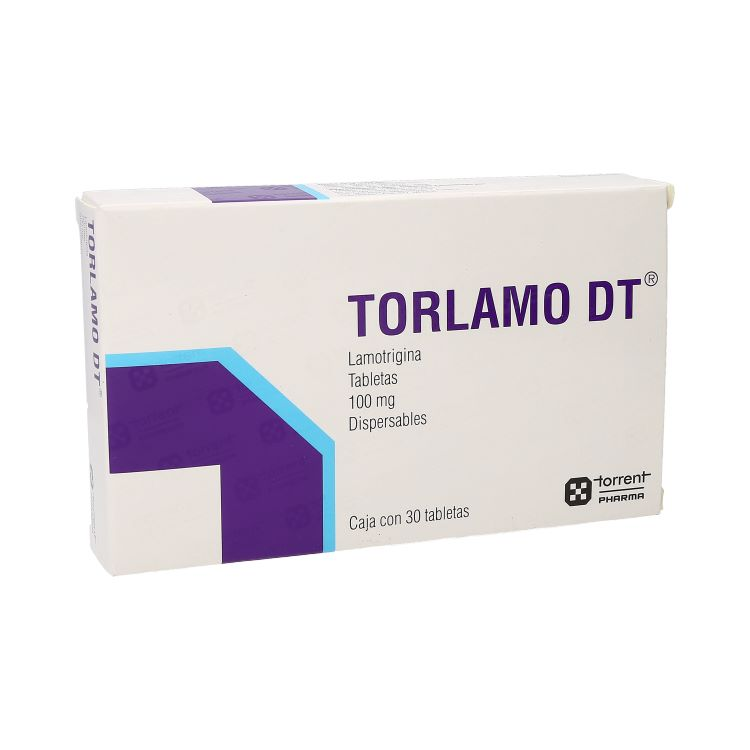 Torlamo Dt Disper 100 Mg Caja 30 Tabletas