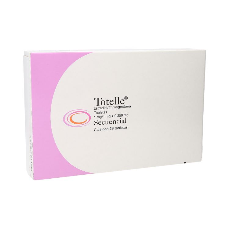 TOTELLE SECUENCIAL 1MG GRAGC28