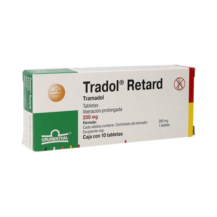 TRADOL RTRD 200MG TAB C10