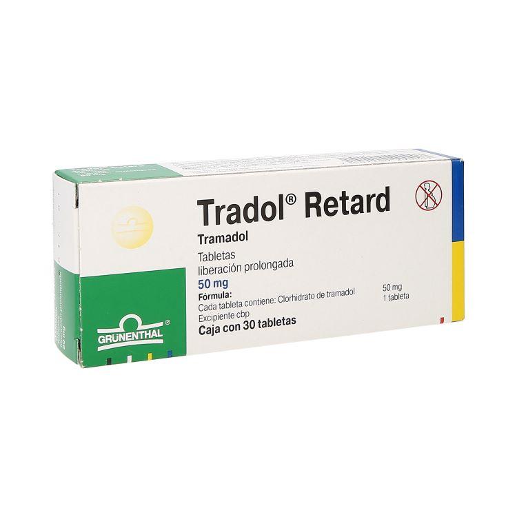 TRADOL RETARD 50MG C30