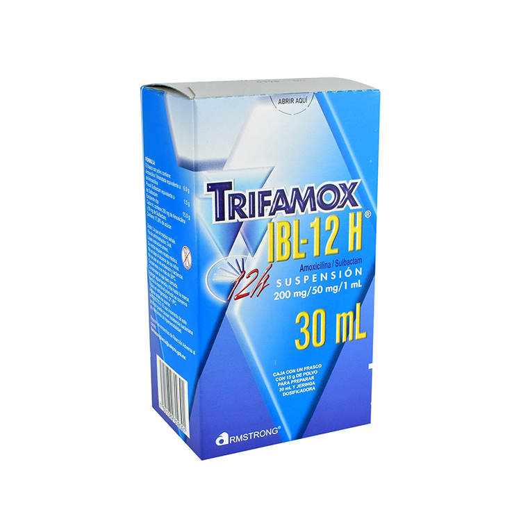 TRIFAMOX IBL 12H SUSP 30ML