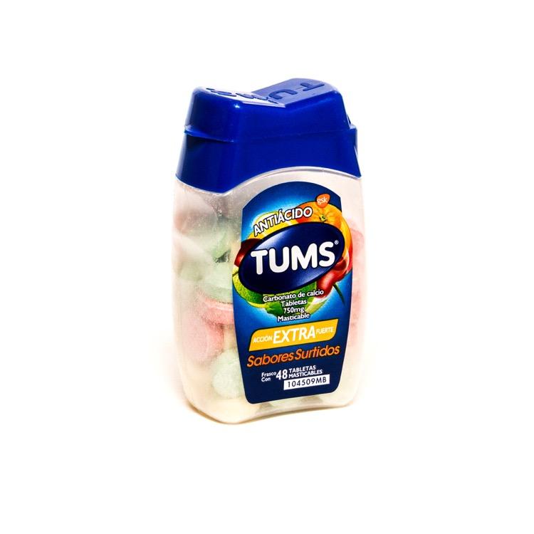 TUMS EXTRA SURT TAB MAST C48