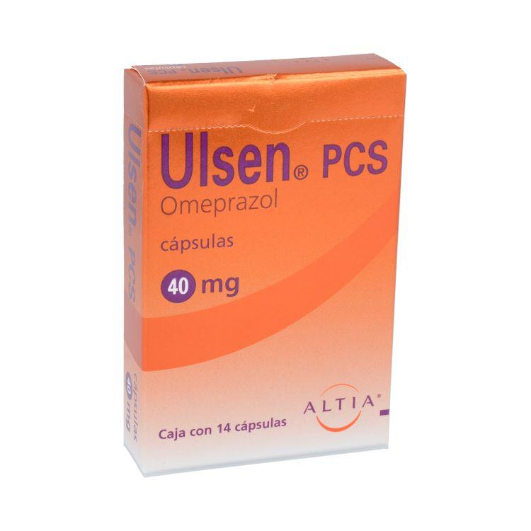 ULSEN PCS 40MG CAP C14