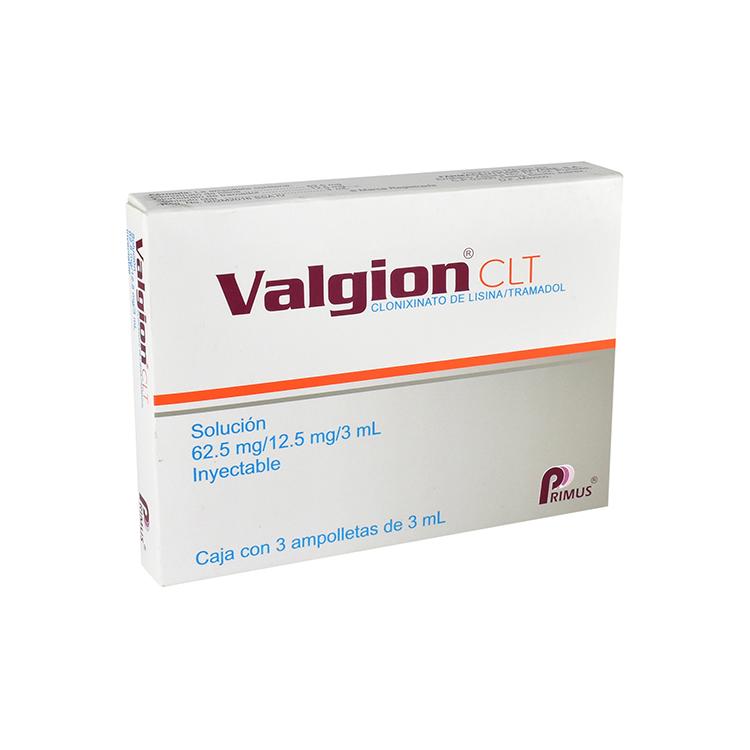 VALGION CLT 62 5/12 5MG AMP C3