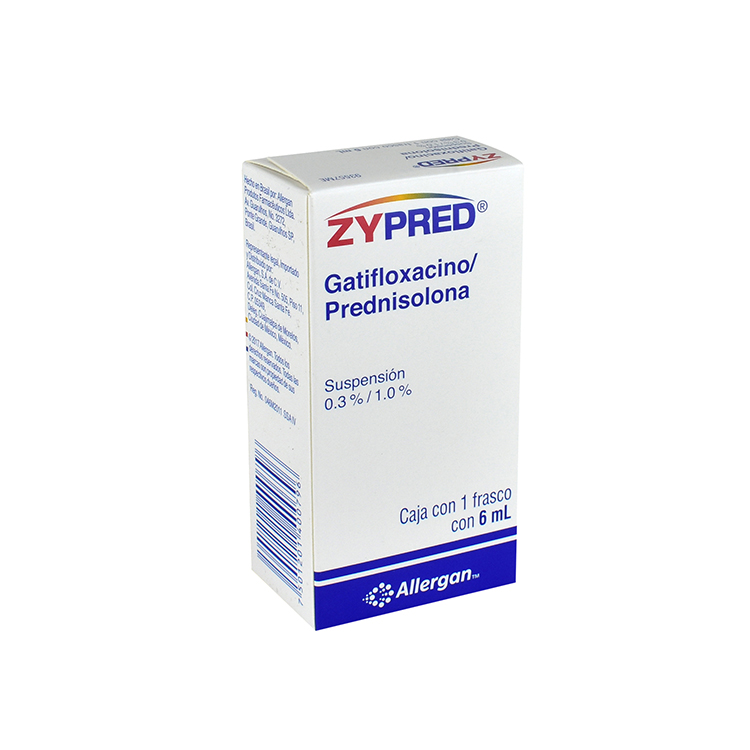ZYPRED 0 3%/1 0% SUSP FCO 6ML