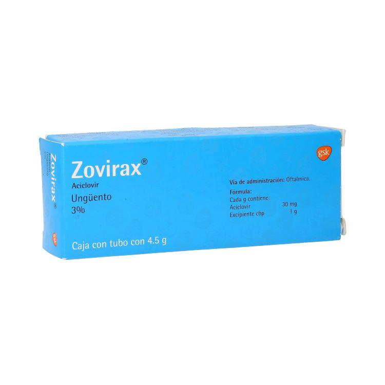 ZOVIRAX OFT 3G/100G UNG 4 5G