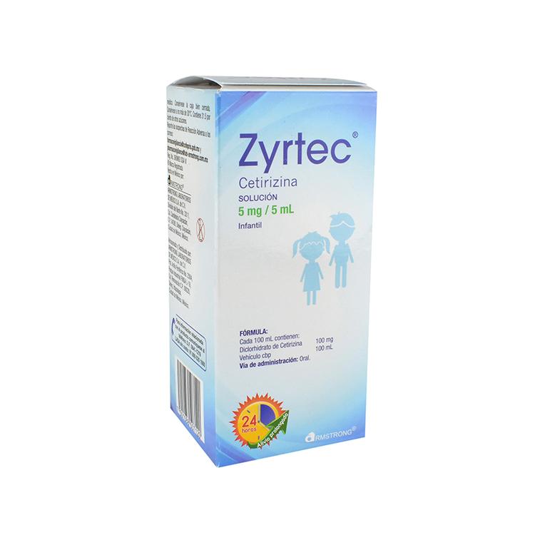 ZYRTEC INF SOL 100ML