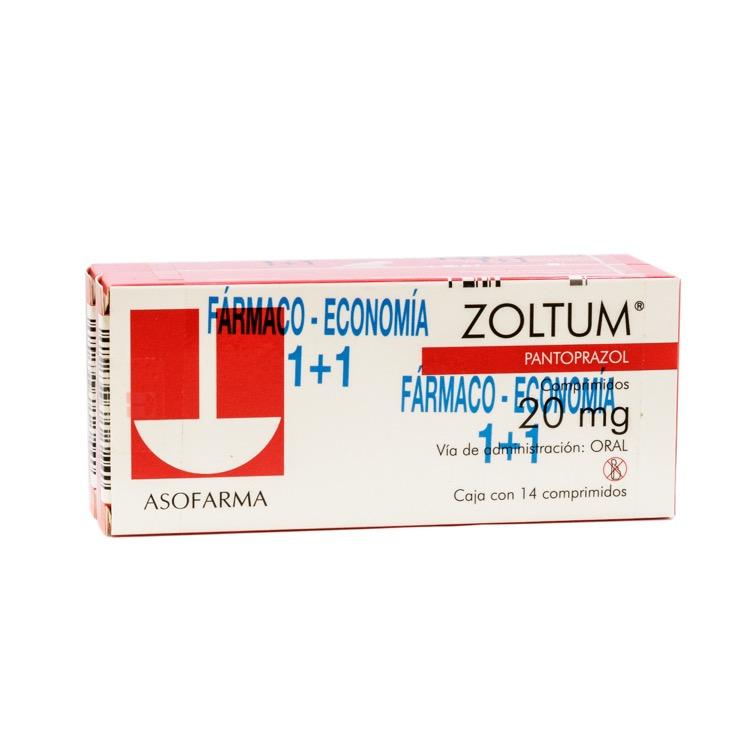 ZOLTUM 20MG CPR C14 PAQ C2