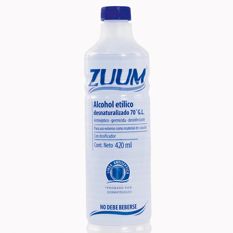 ZUUM ALCOHOL DESNAT 420ML