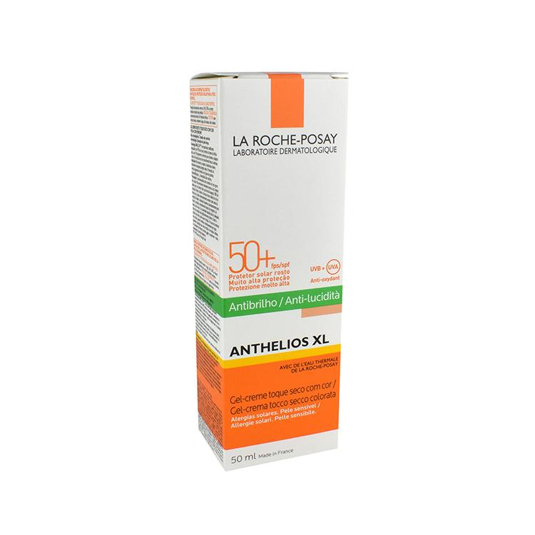Anthelios Xl Anti-Brillo Con Color Pfs 50Y Y50Ml 1 Tubo Gel-Crema 50 Ml