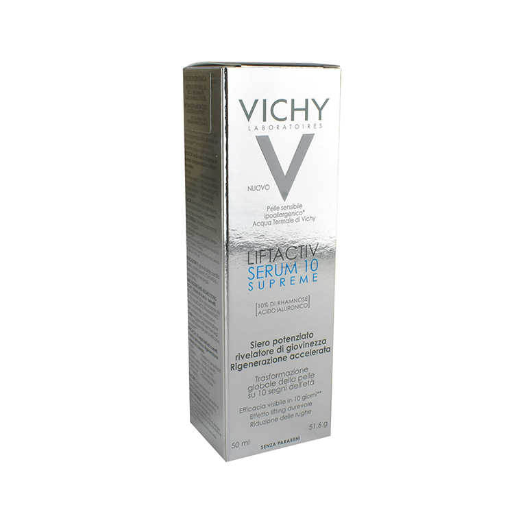 Vichy Liftactive 10 Supreme 1 Frasco Liquido 50 Ml