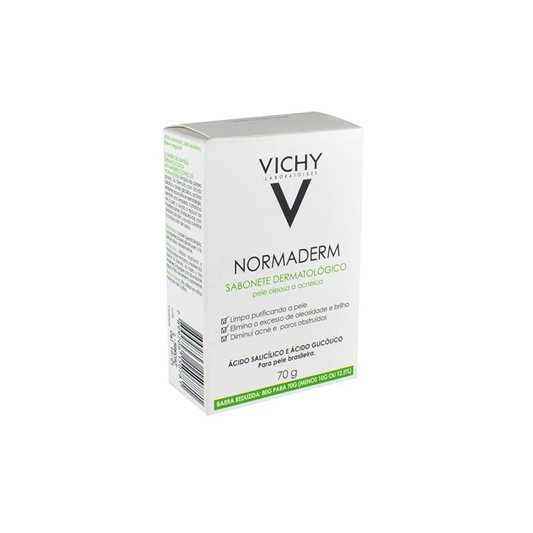 Vichy Normaderm Jbn Barra Anti Imperfecciones 1 Bolsa Jabon 70 Gr
