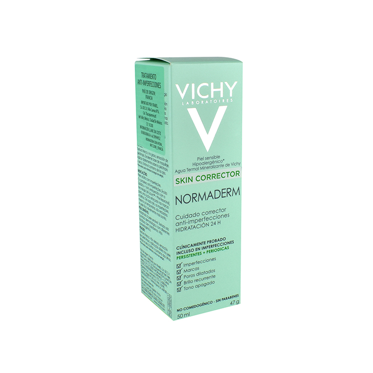 Vichy Normaderm Anti Imperfeccion Soin Embeilisseur 1 Tarro Crema 50 Ml