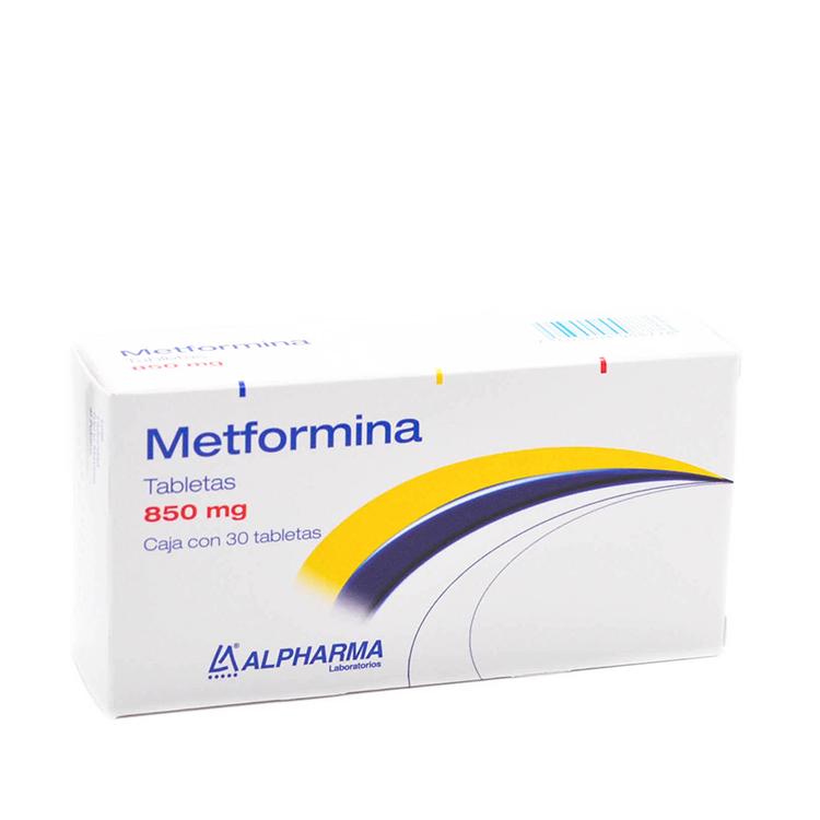 METFORMINA 850MG TAB C30