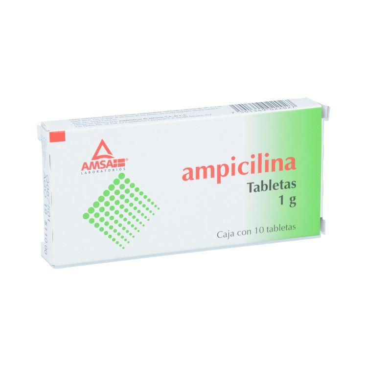 AMPICILINA 1G TAB C10