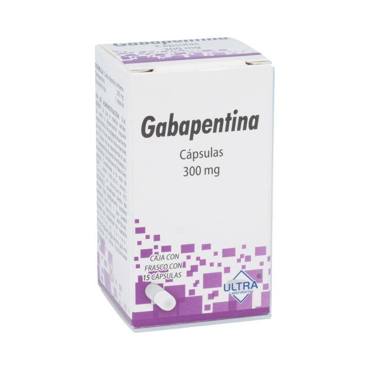 GABAPENTINA 300MG CAP C15