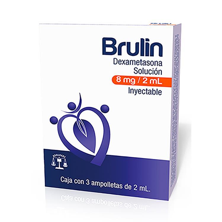 BRULIN 8MG AMP 3X2 ML