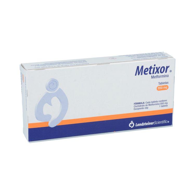 METIXOR 850MG TAB C30