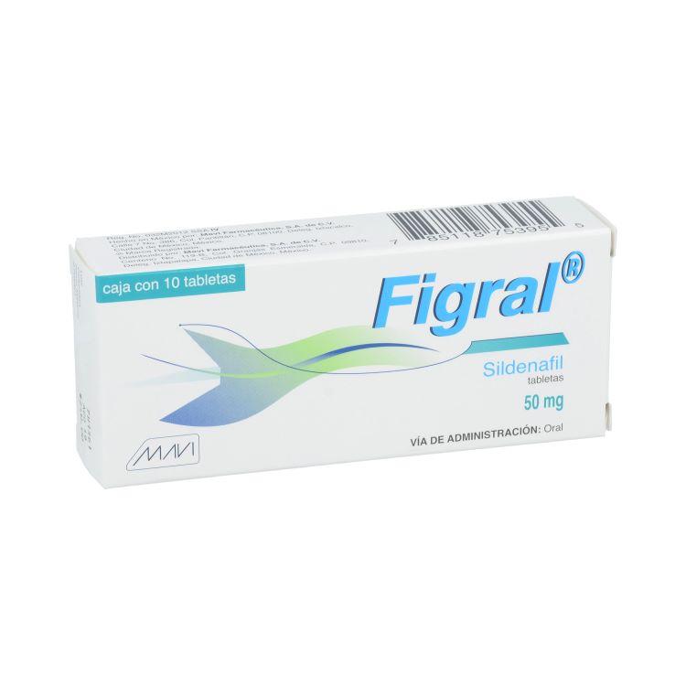 FIGRAL 50MG TAB C10